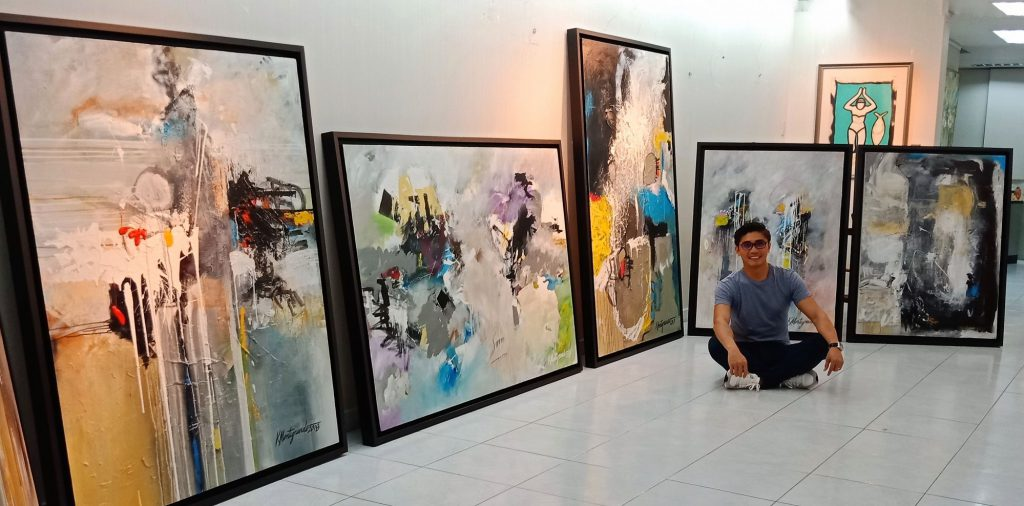 Figures of Obsession: The Art of Kenneth John Montegrande at Artes Orientes